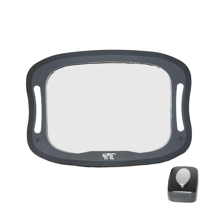Speil til baksete Premium, 4ME, Inkl LED-Lys