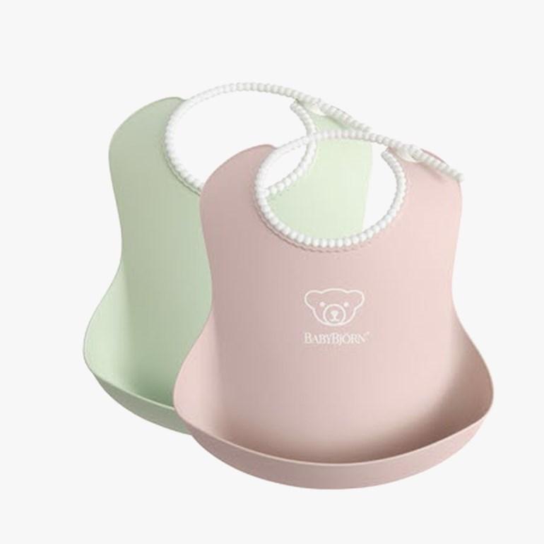 Babybjørn Smekke 2pack. Rosa/Grønn