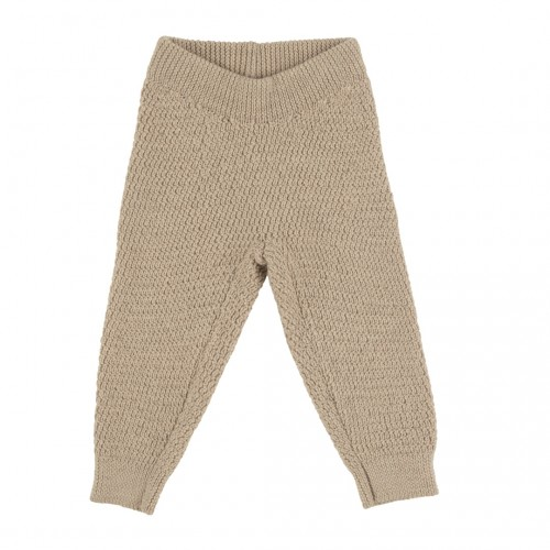Voksi® Wool, Honeycomb Bukse, Melange Sand