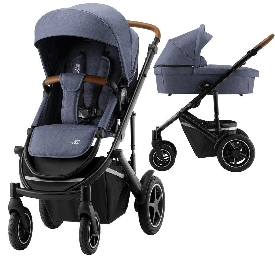 Britax Smile III, Indigo Blue/Brown , Inkl. Bagdel