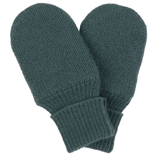 Voksi® Wool, Double Knit Mittens Sea Green