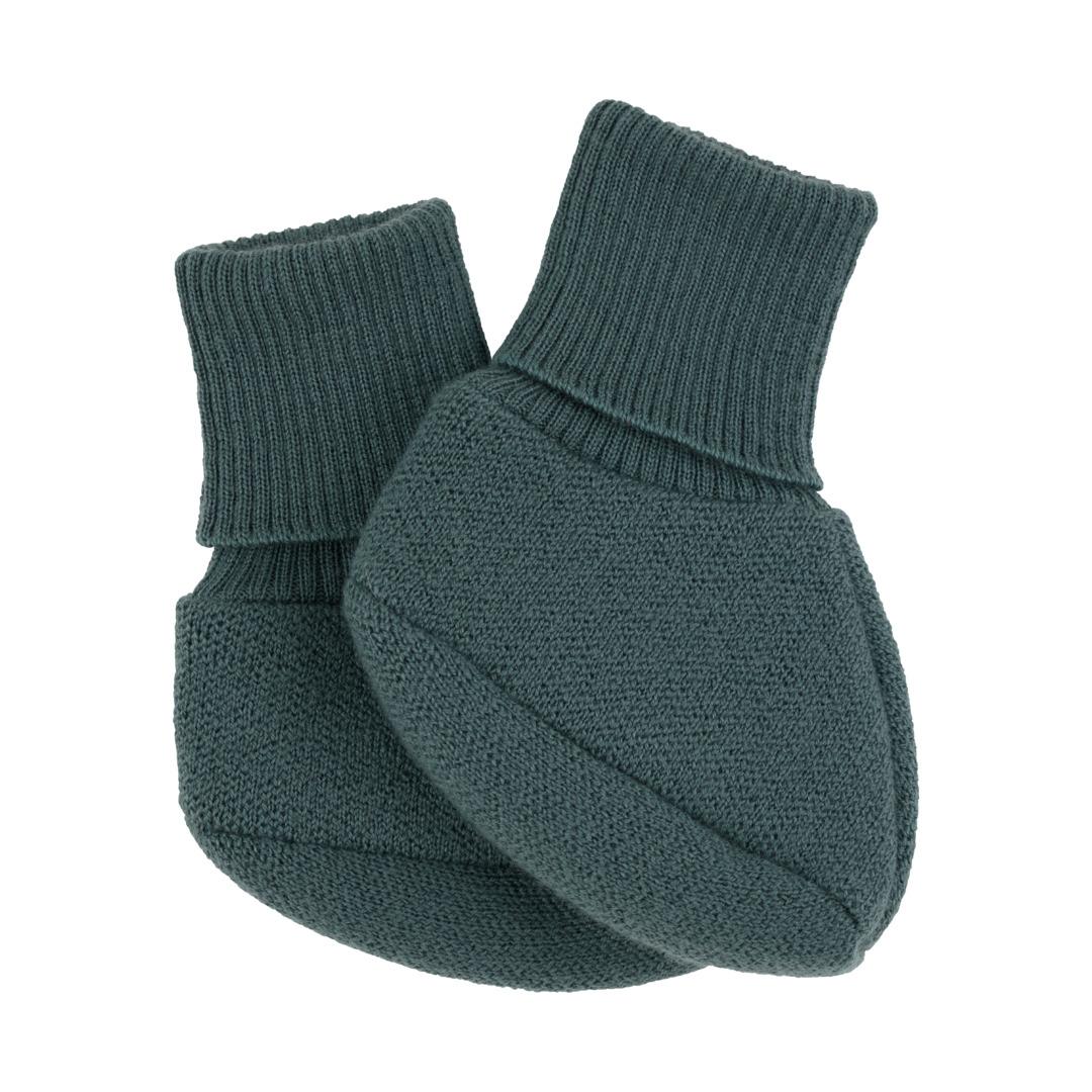 Voksi® Wool, Double Knit Booties Sea Green