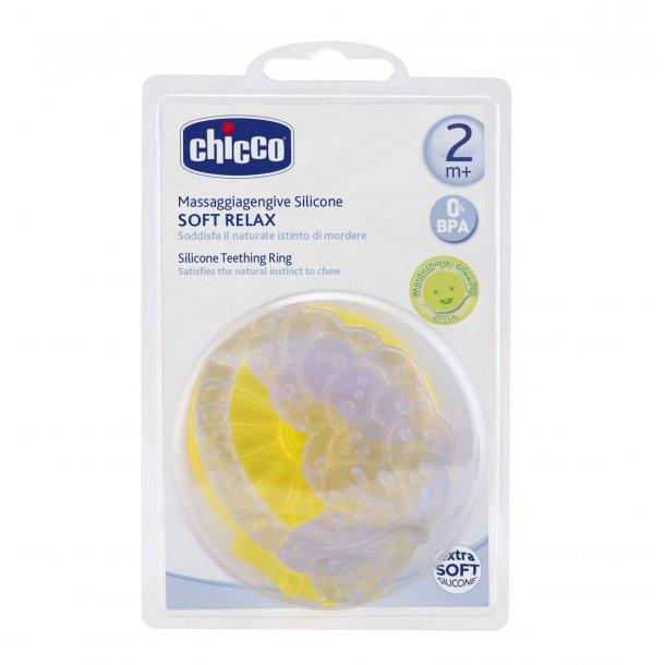 Bidering, silicone, citron/vindruer, Chicco