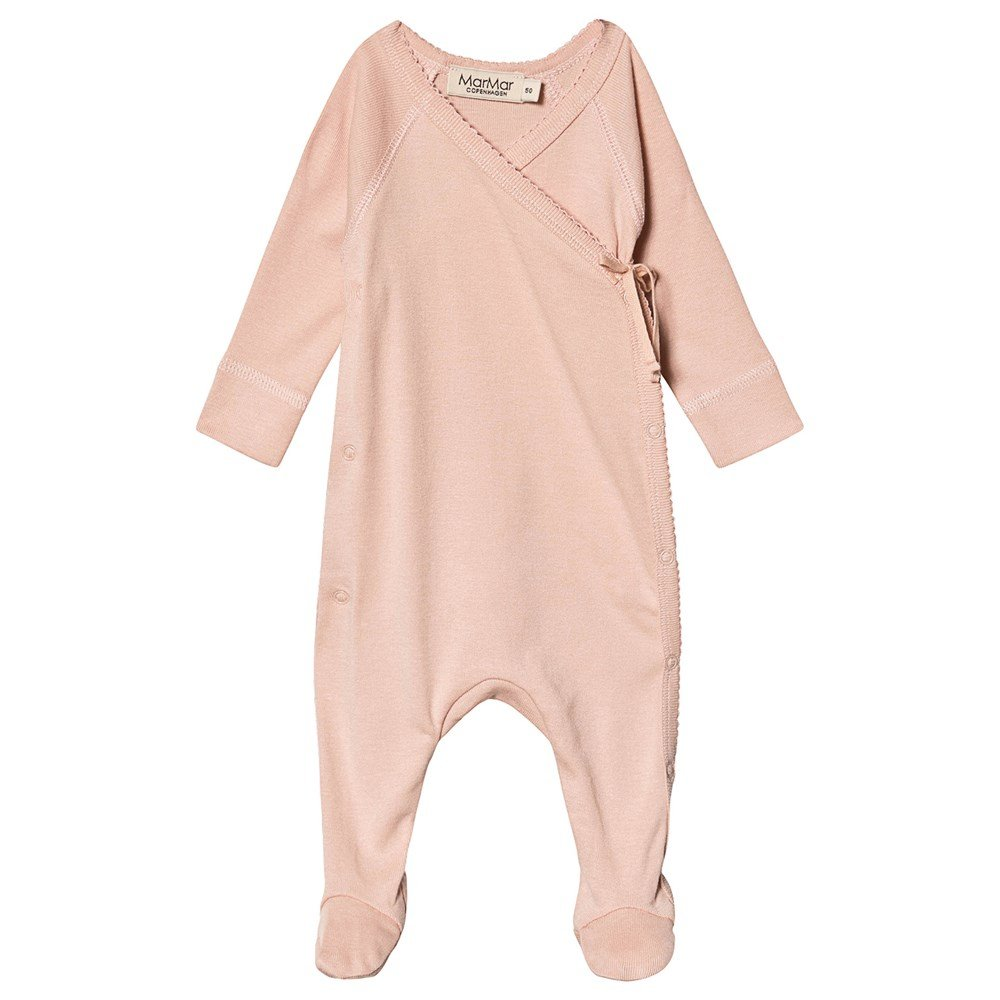 Rubetta Footed Baby Body Rose