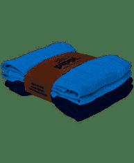 Muslin 4 pack kluter, Blå