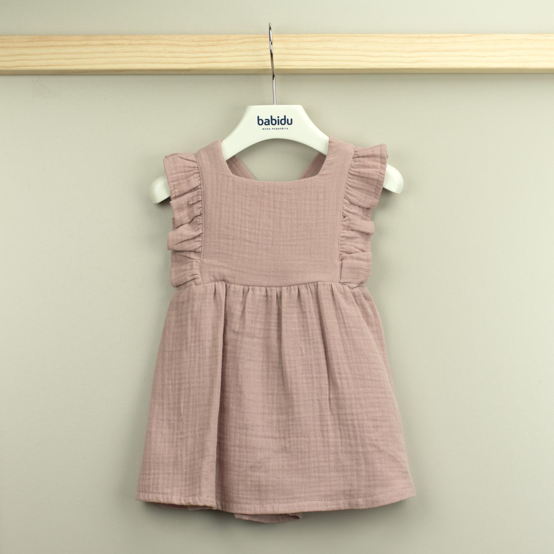 Babidu Alma kjole, Rosa