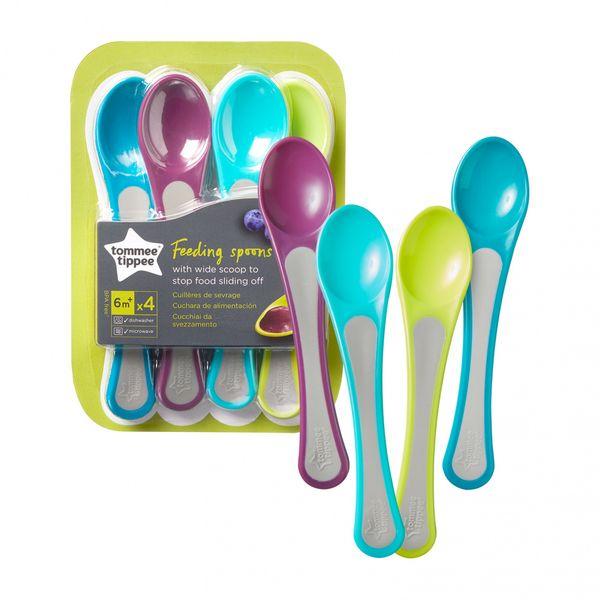 Explora 4 x Weaning Spoon, 4m+