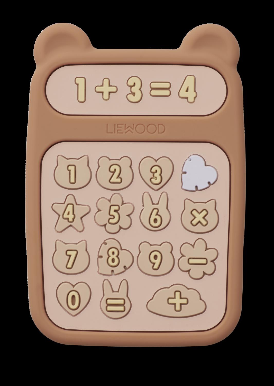 Liewood Biteleke Kalkulator, Rosa