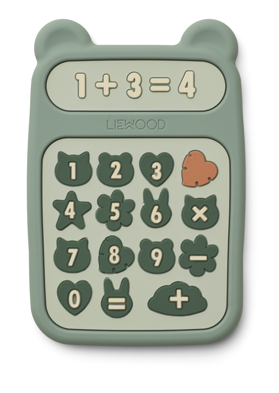 Liewood Biteleke Kalkulator, Peppermint
