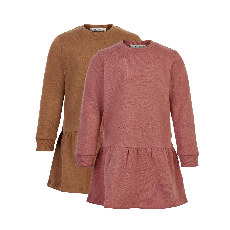 Sweat Dress LS (2-pack)