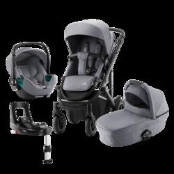 Smile III med bag + Baby-Safe isense & Flex base isense