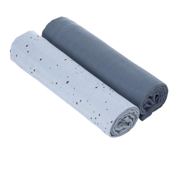 Swaddle & Burp Blanket XL More Magic Seal 2 pcs