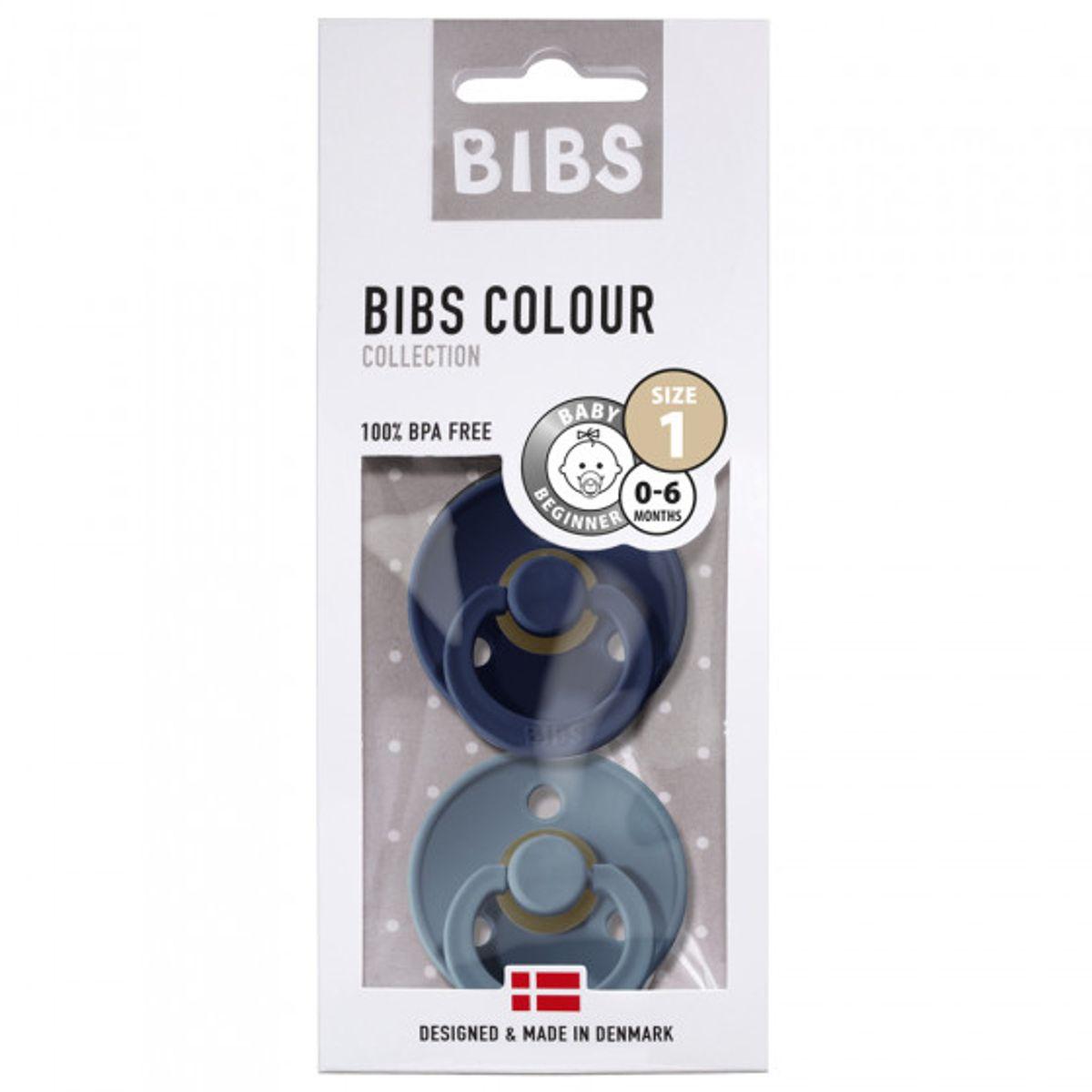 Bibs Colour 2 pk, Deep space/Petrol