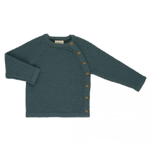Voksi® Wool, Honeycomb Genser, Sea Green+
