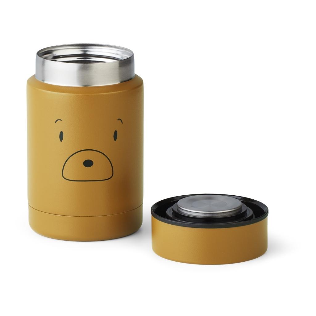 Liewood Nadja food jar, Mr bear golden caram