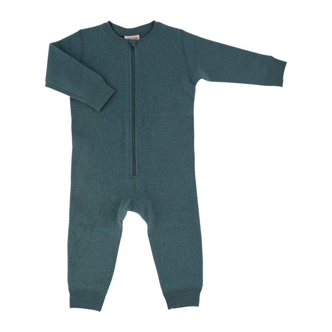 Voksi® Wool, Merinoull Jumpsuit, Sea Green. Str 50/56