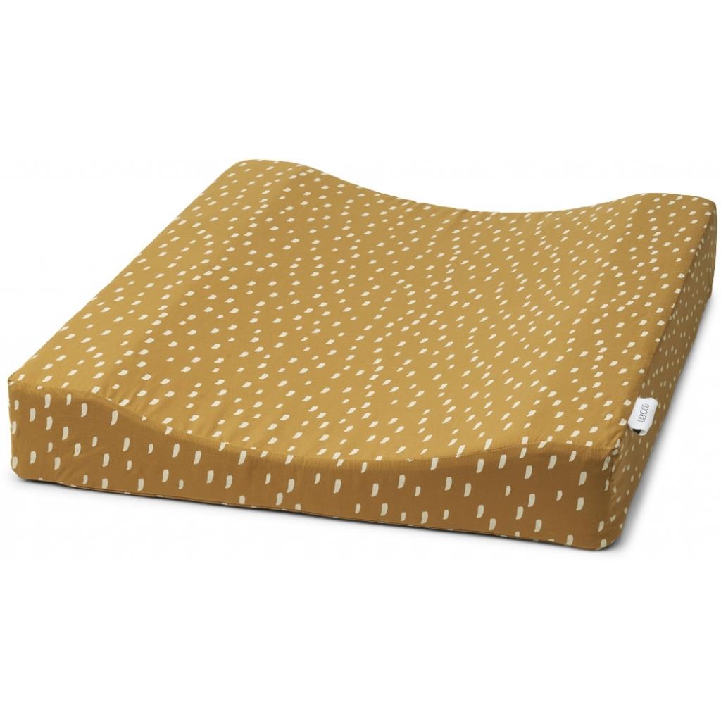 Liewood Fritz changing mat, Graphic stroke/golden caramel