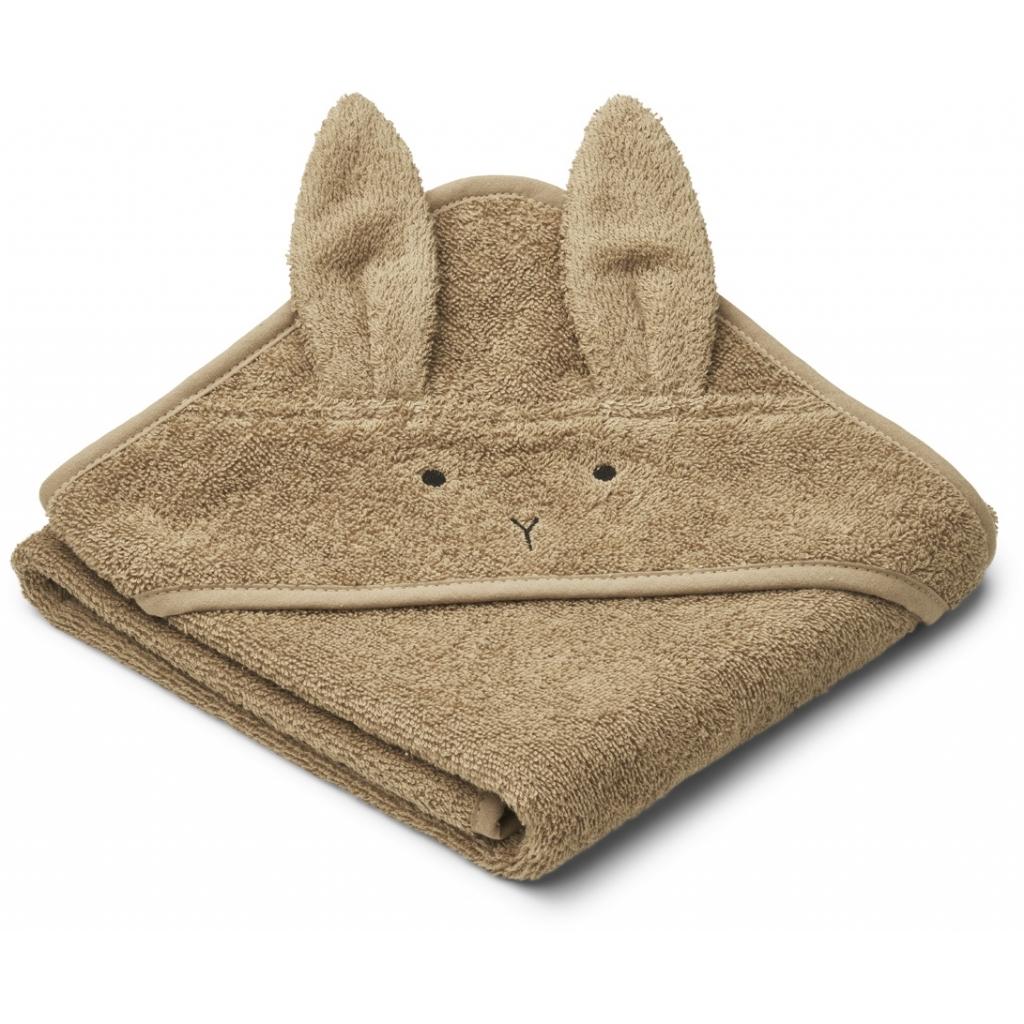 Liewood Albert hooded towe, Rabbit oat
