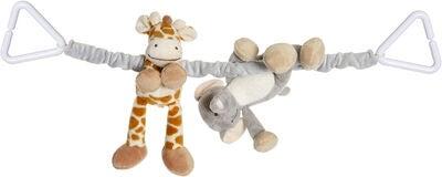 Teddykompaniet Diinglisar Vognanheng Wild, Elefant & Sjiraff