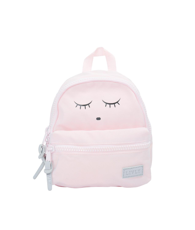 Livly Sleeping cuti Backpack mini, Rosa