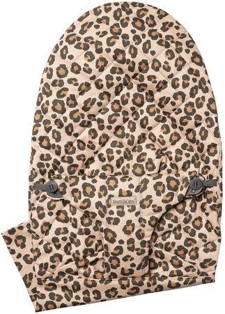 BabyBjörn Bliss Cotton Stoffsete til Vippestol, Leopard Beige