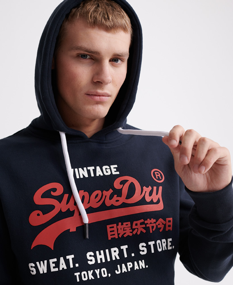 Superdry SWEAT SHIRT SHOP DUO HOOD