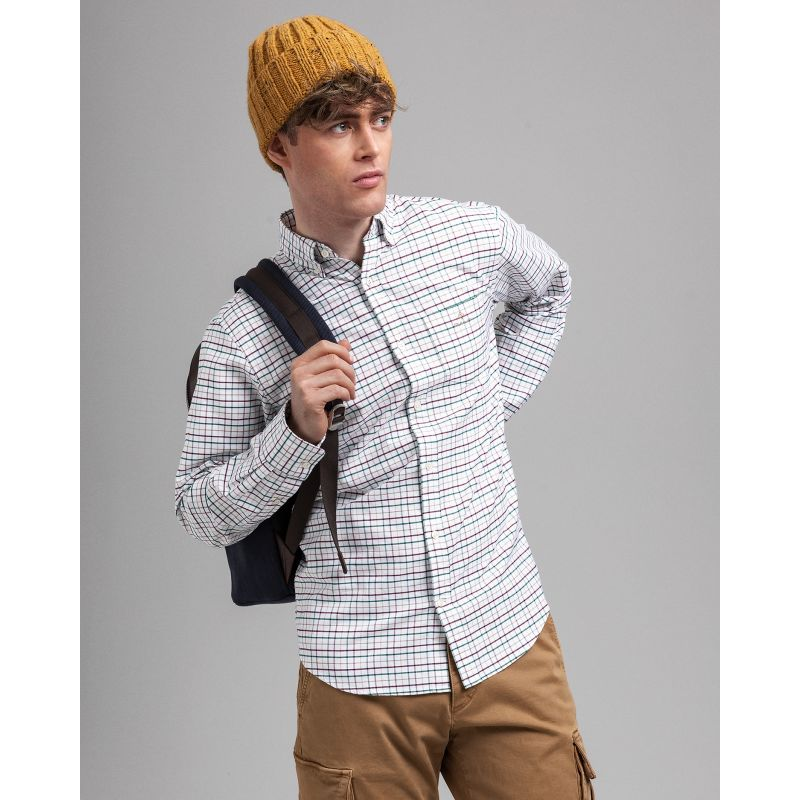 Gant  THE BEEFY OXFORD CHECK REG BD