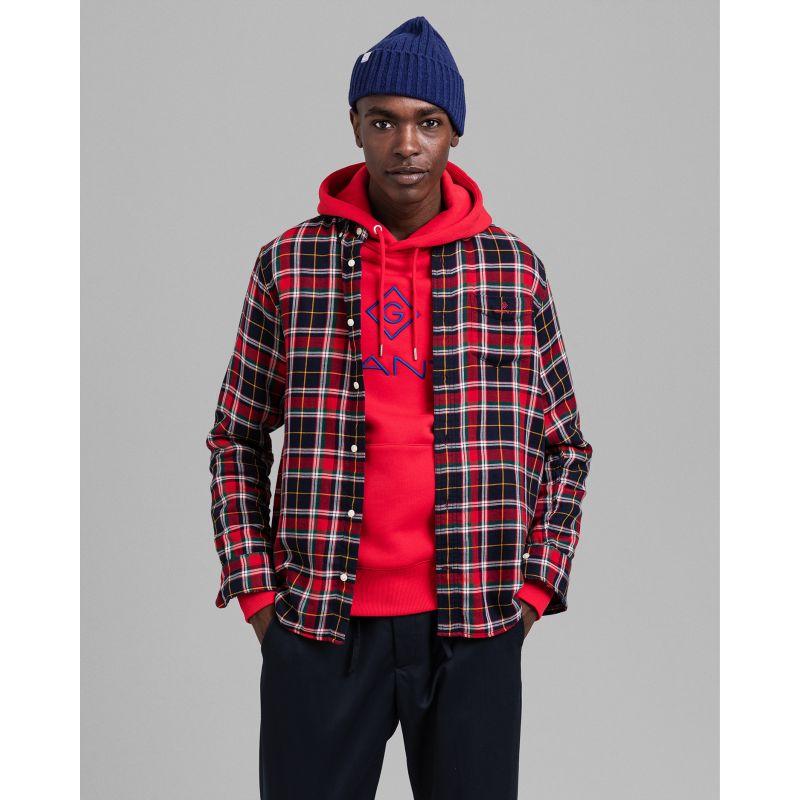 Gant  D2. DOUBLE FLANNEL REG BD Shirt