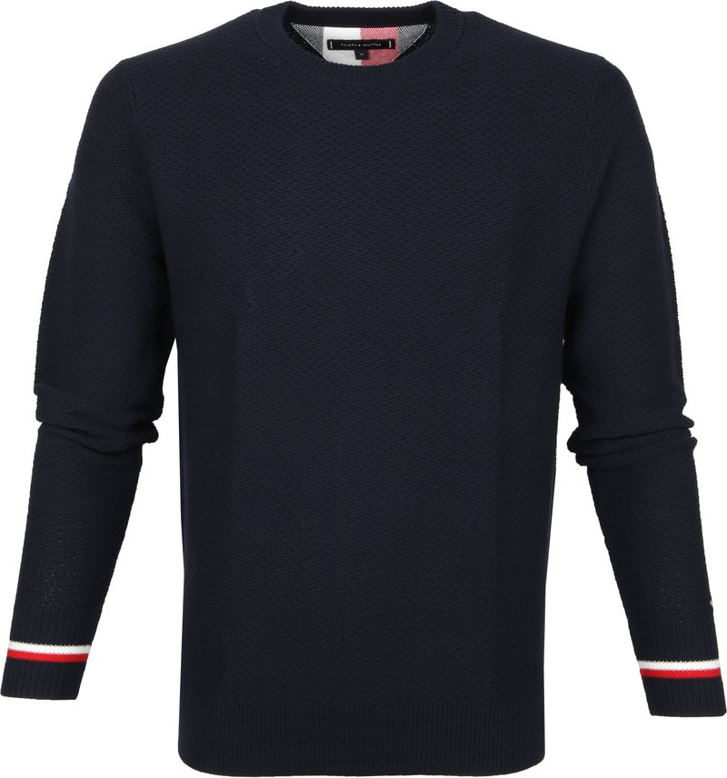 Tommy Hilfiger PATTERN STRUCTURE SWEAT