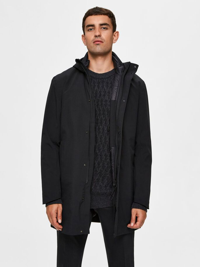 Selected SLHLUCAS HOOD TECH PARKA B
