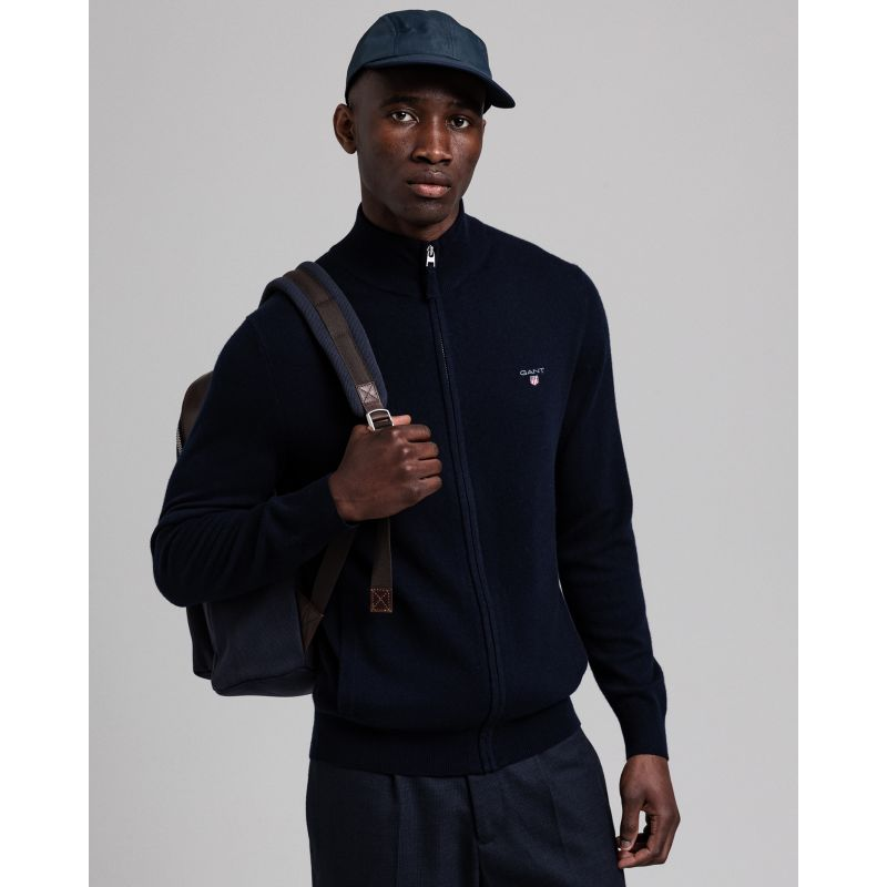 Gant  SUPERFINE LAMBSWOOL ZIP CARDIGA