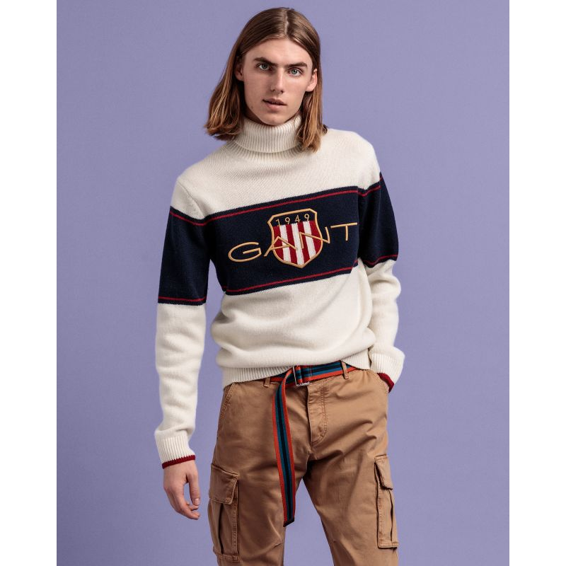 Gant  D2. ARCHIVE SHIELD TURTLENECK