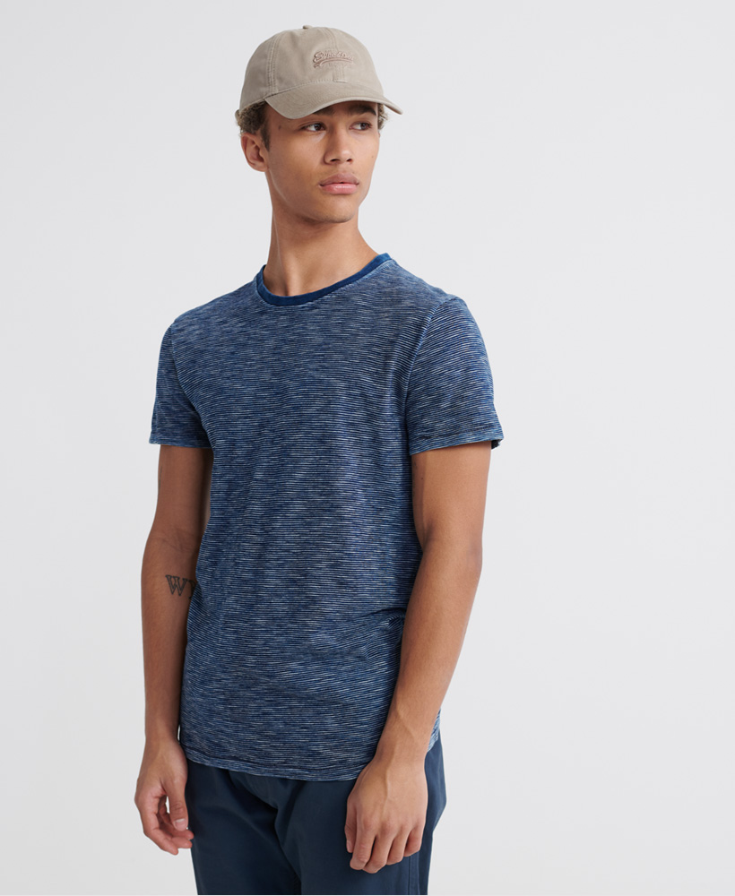 Superdry Denim Godds Co Texture Tee