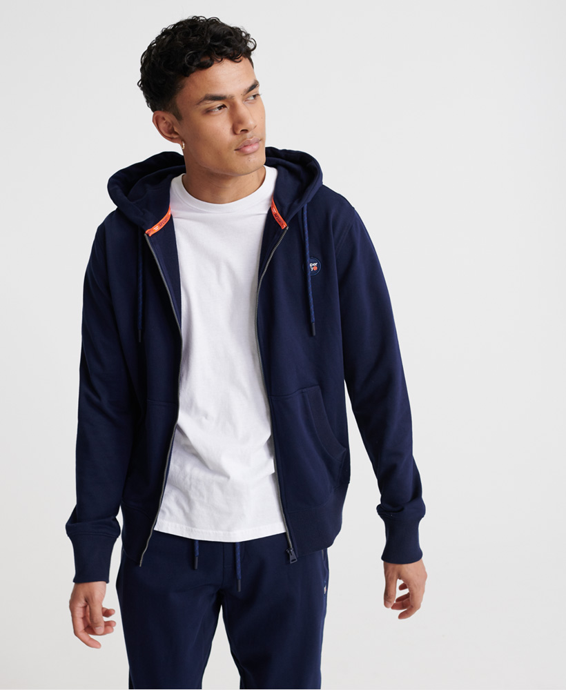 Superdry Collective Loopback Zip Hoodie