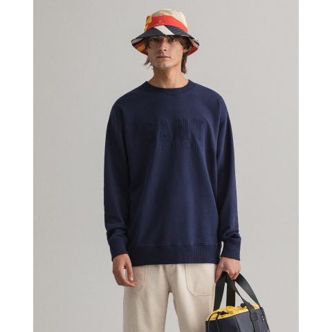Gant D2. TONAL LOGO SWEAT C-NECK