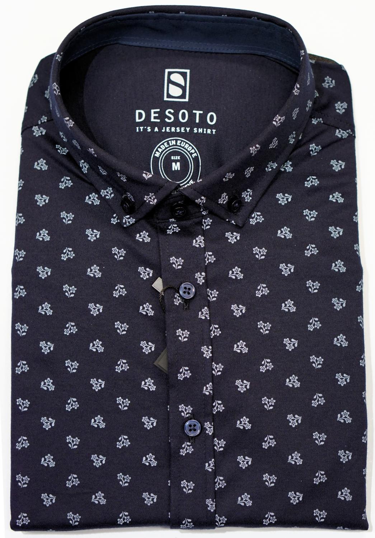 DESOTO Modern BD 1/2 skjorte