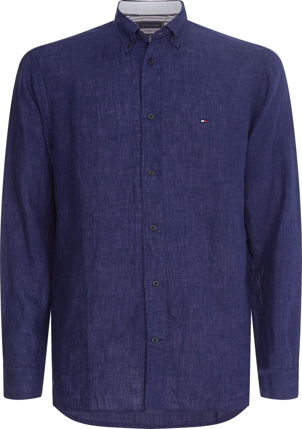Tommy Hilfiger PIGMENT DYED LINEN SHIRT