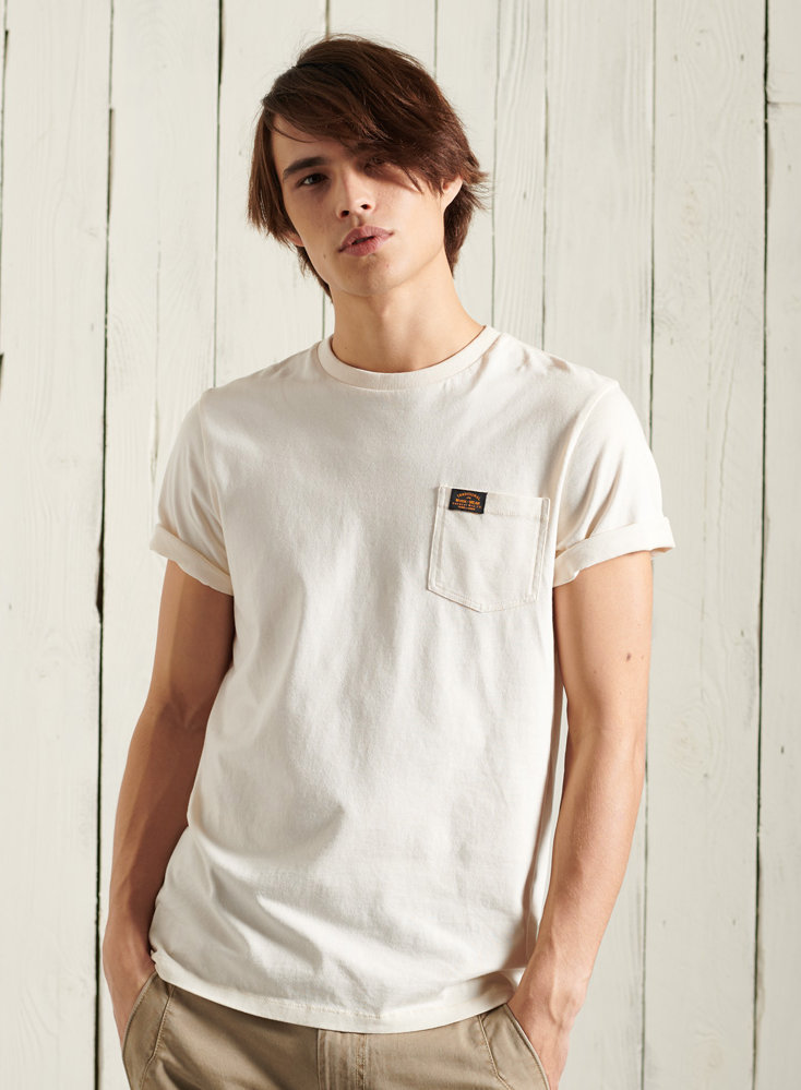 Superdry WORKWEAR POCKET TEE