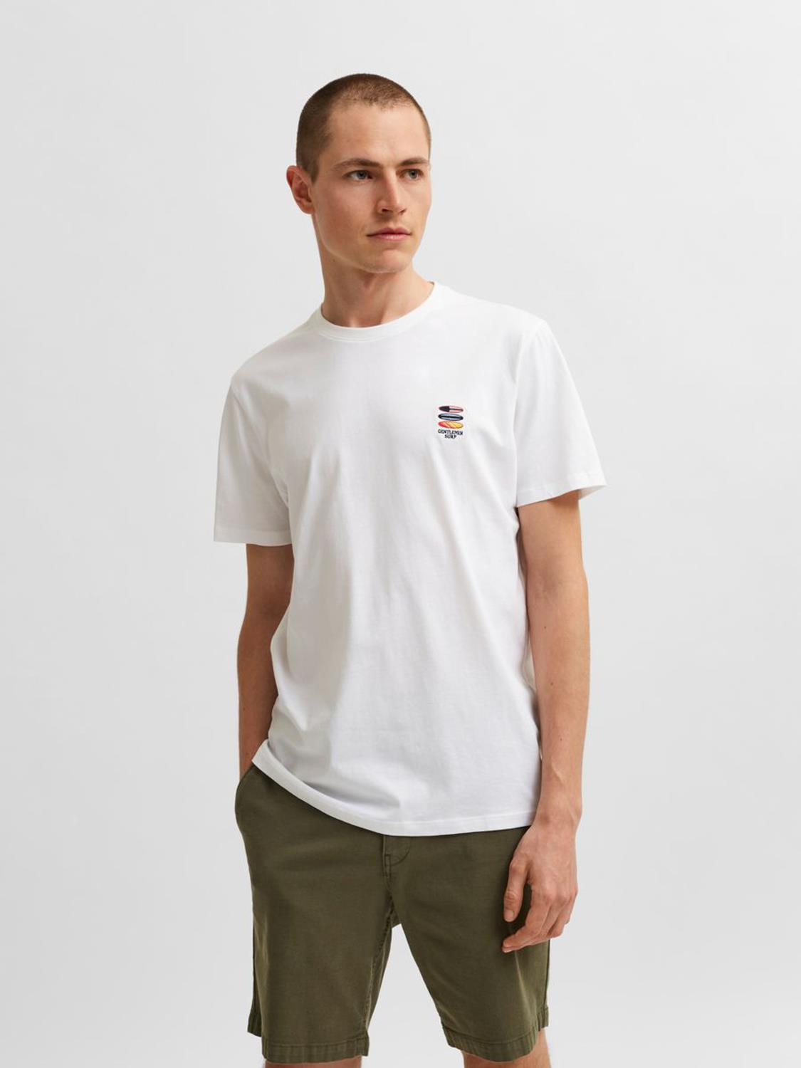 Selected SLHFATE CAMP SS O-NECK TEE G