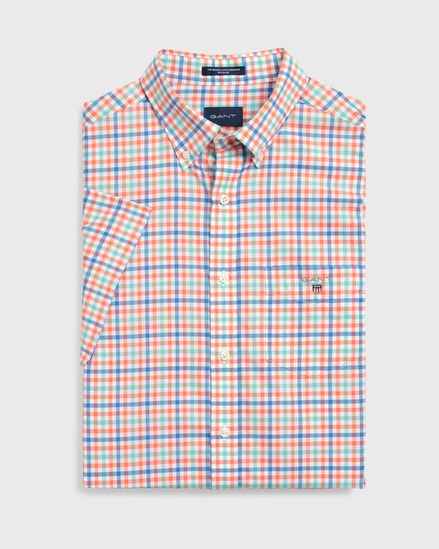 Gant THE B-CLOTH 3COL GINGHAM REG SS BD