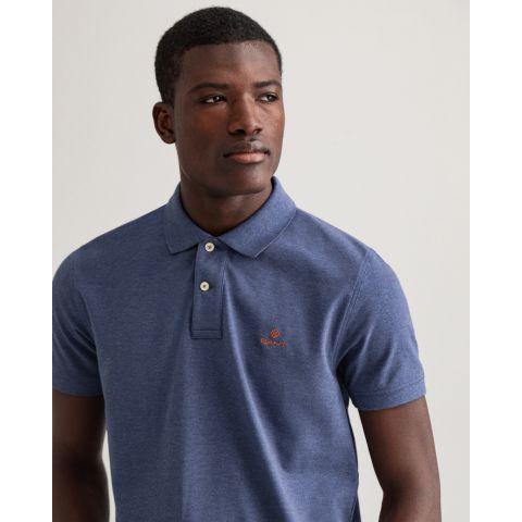 Gant Contrast Collar Piqué Rugger T-shirt
