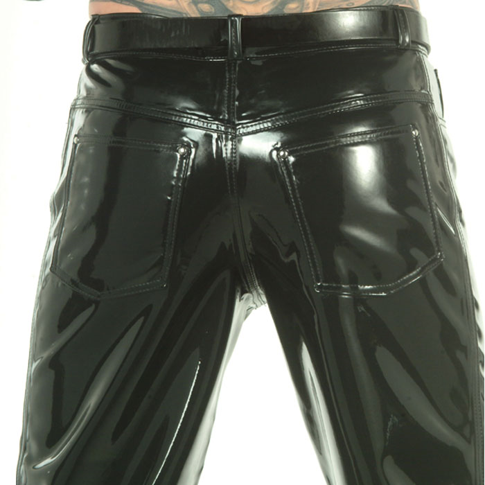 Latexjeans Low Waist*