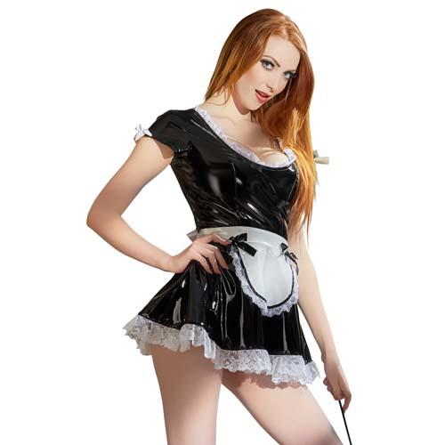 Alice French Maid Kostyme Lakk