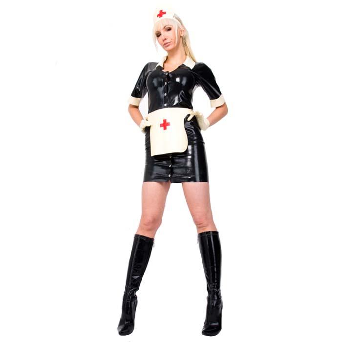 Maddie Nurse Kostyme Latex