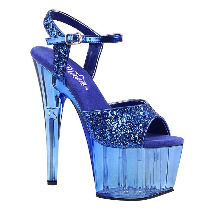 Blå Dansesko Glitter