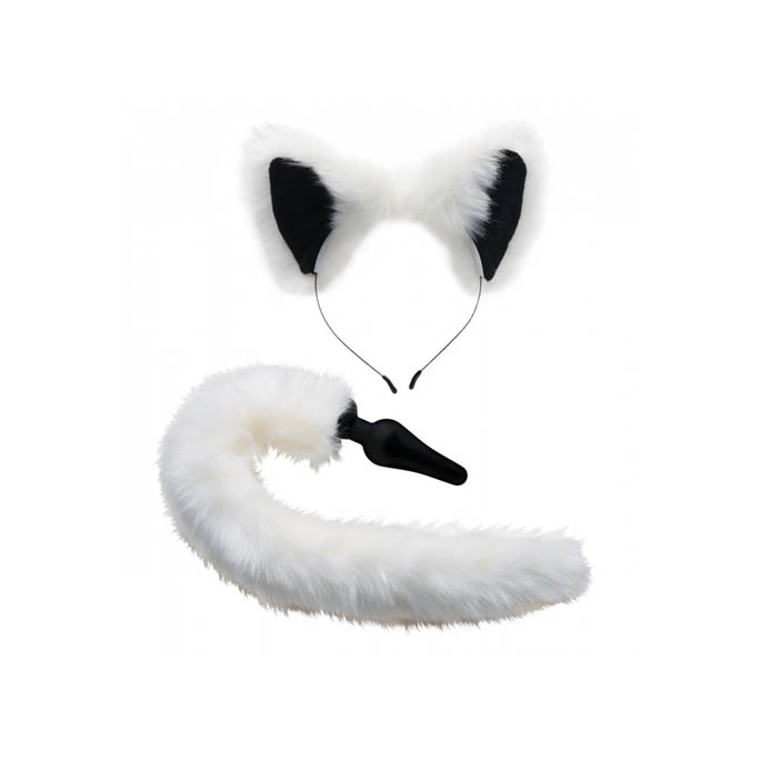 Tailz Halesett White Fox