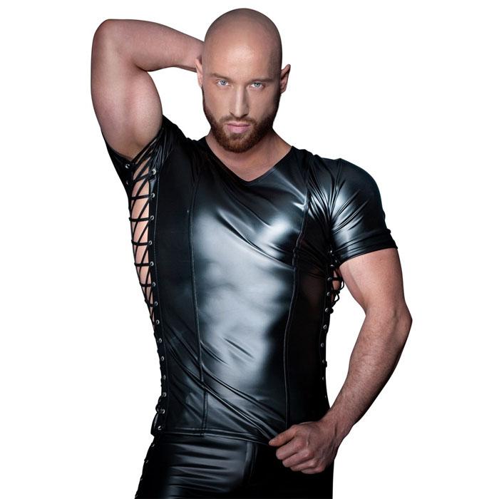 Márton T-skjorte Knytedetaljer Noir*
