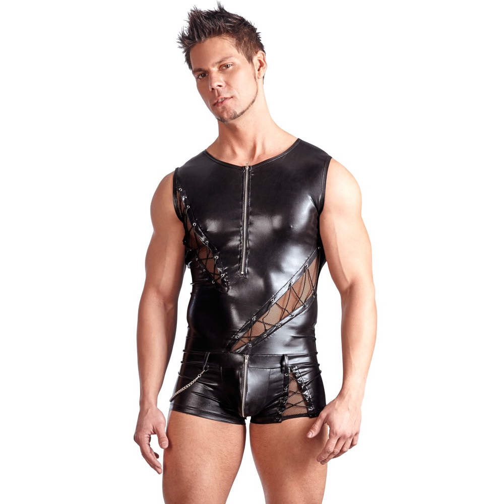 Jamie Playsuit Wetlook Svenjoyment*