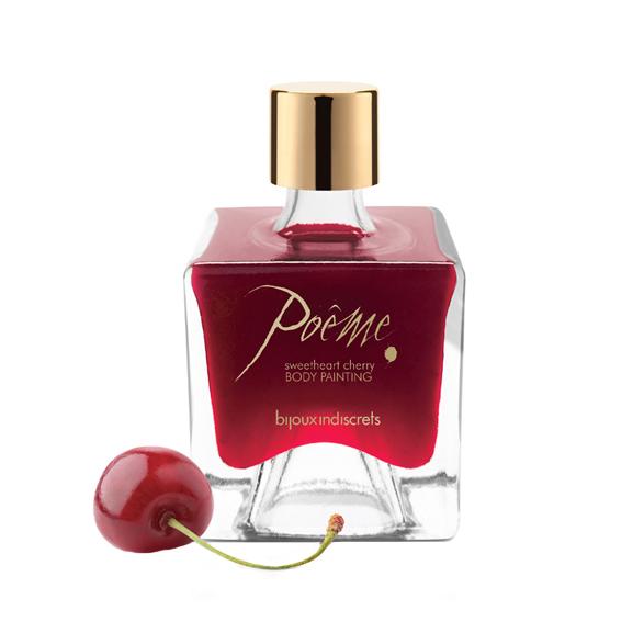 Poême Kissable Body Paint Cherry