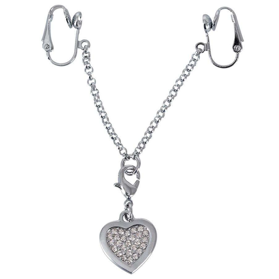 Intimsmykke Hjerte Sølv